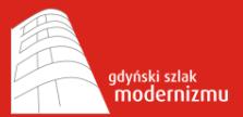 Gdyński szlak modernizmu logotyp 223 x 108