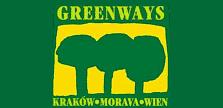 Kraków-Morawy-Wiedeń Greenways logotyp 223 x108