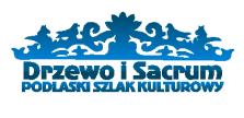 Podlaski szlak Kulturowy Drzewo i Sacrum logotyp 223 x 108